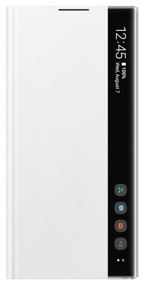 cumpără Husă pentru smartphone Samsung EF-ZN975 Clear View Cover White în Chișinău