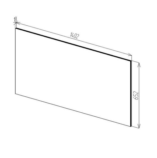 купить Modern Зеркало О 1400x650 в Кишинёве
