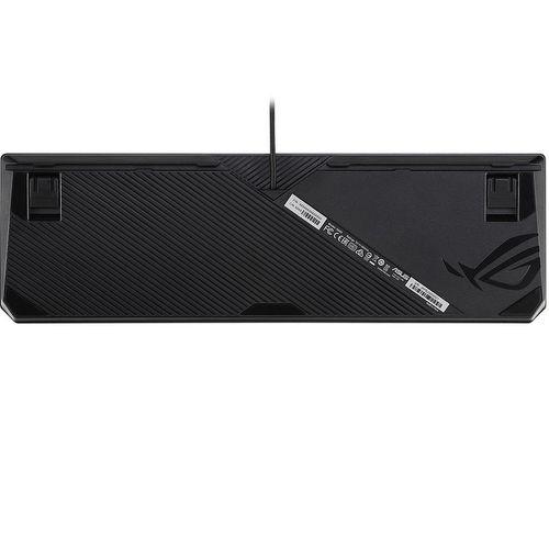 cumpără ASUS ROG Strix Scope RX optical RGB gaming keyboard for FPS gamers, ROG RX Optical Mechanical Switches, Aura Sync RGB illumination, IP56 water and dust resistance, USB 2.0 passthrough, Alloy top plate, gamer (tastatura/клавиатура) în Chișinău