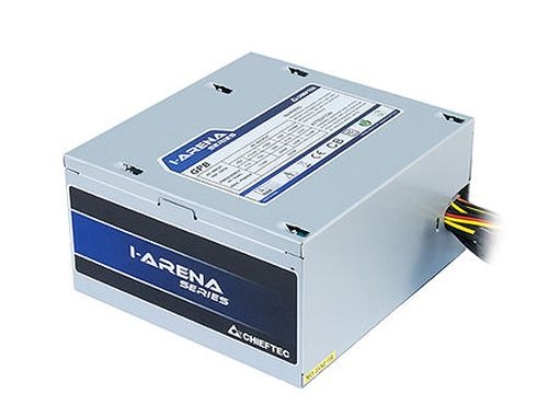 купить Блок питания 500W ATX Power supply Chieftec GPB-500S, 500W, ATX 12V 2.3, 120mm silent fan, 85 plus, Active PFC (Power Factor Correction) (sursa de alimentare/блок питания) в Кишинёве