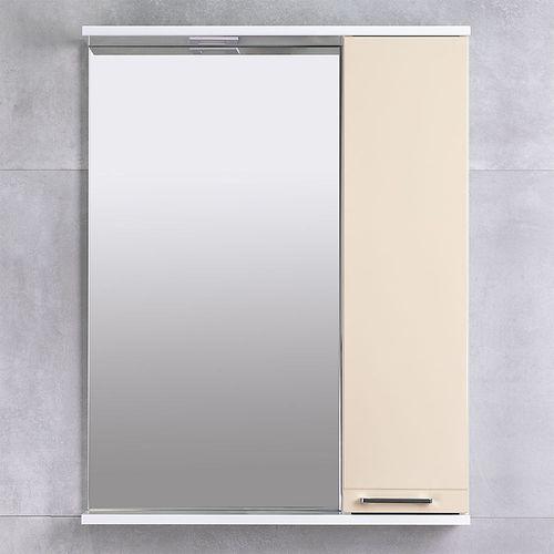 купить Rivera Шкаф-зеркало беж 650 R в Кишинёве
