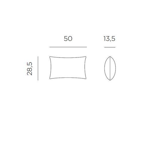 купить Подушка Nardi CUSCINO RETTANGOLARE avocado Sunbrella 36000.02.139 в Кишинёве