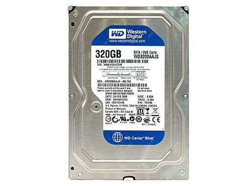 "купить Жесткий диск 3.5"" HDD 320GB Western Digital Caviar Blue WD3200AAJS, 7200rpm, SATA2 , 8MB (hard disk intern HDD/внутренний жесткий диск HDD) в Кишинёве"