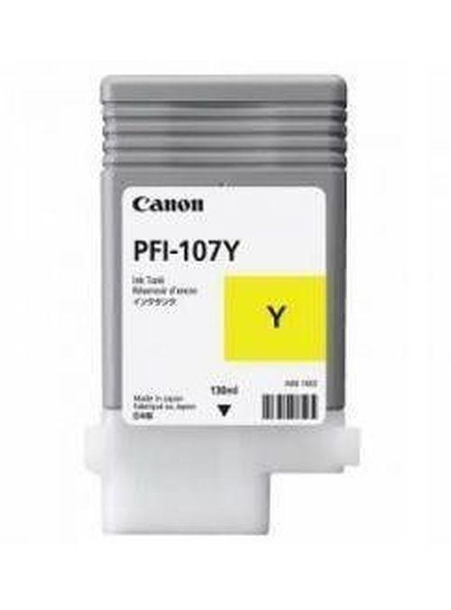 купить Ink Cartridge Canon PFI-107 Y, 130ml for iPF670,770,785 в Кишинёве