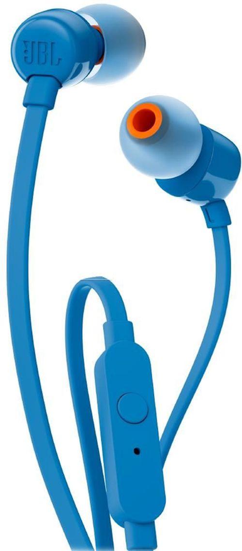 cumpără Cască cu microfon JBL T110 Blue în Chișinău