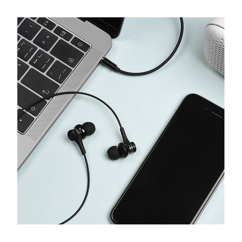 купить Borofone BM22 black (095446) Boundless universal earphones with mic, Speaker 10mm, Cable length 1.2m, Microphone, support for Apple and Android в Кишинёве
