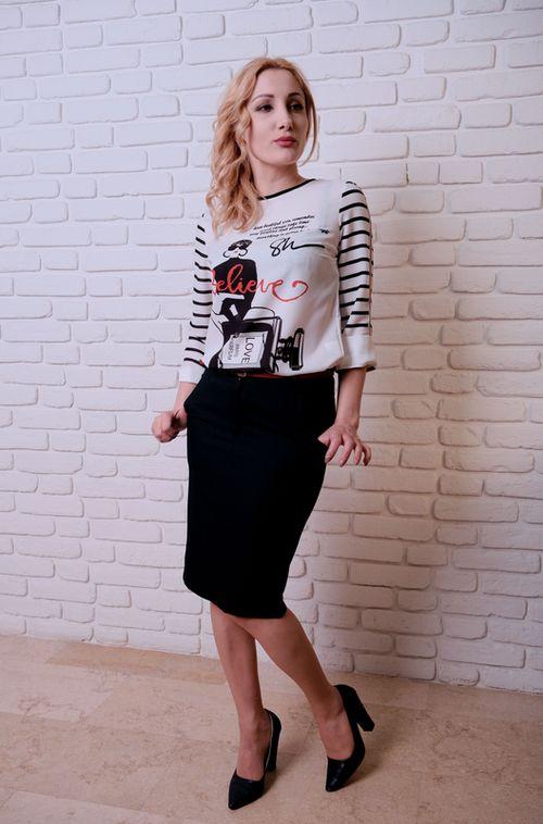 купить Блузка Simona ID 9556 в Кишинёве