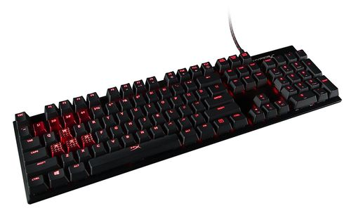 купить HyperX Alloy FPS Mechanical Gaming Keyboard (RU), Mechanical keys (Cherry® MX Brown key switch) Backlight (Red), 100% anti-ghosting, Key rollover: 6-key / N-key modes, Ultra-portable design, Solid-steel frame, Convenient USB charge port, USB в Кишинёве