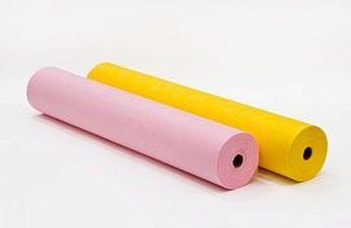купить Простынь в рулоне с перфорацией 0,80*200м. (розовый,желтый) в Кишинёве