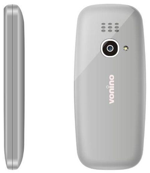купить Телефон мобильный Vonino Nono Gray в Кишинёве