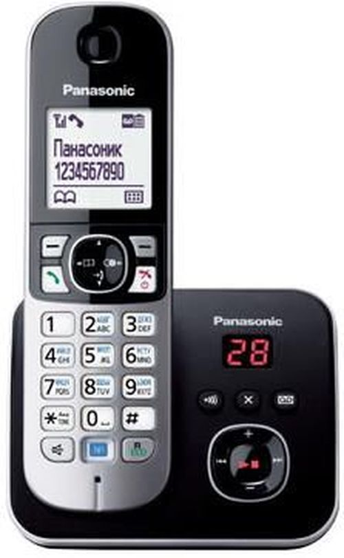 cumpără Telefon fără fir Panasonic KX-TG6821UAB în Chișinău