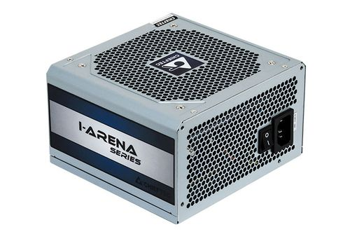 купить Блок питания 600W ATX Power supply Chieftec GPC-600S, 600W, ATX 12V 2.3, 120mm silent fan, 80 plus, Active PFC (Power Factor Correction) в Кишинёве