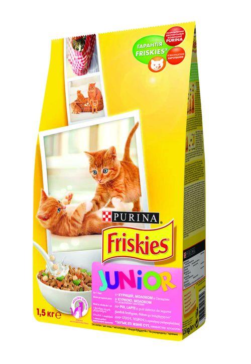 купить FRISKIES  Junior (c курицей, молоком и овощами). 1.5кг в Кишинёве