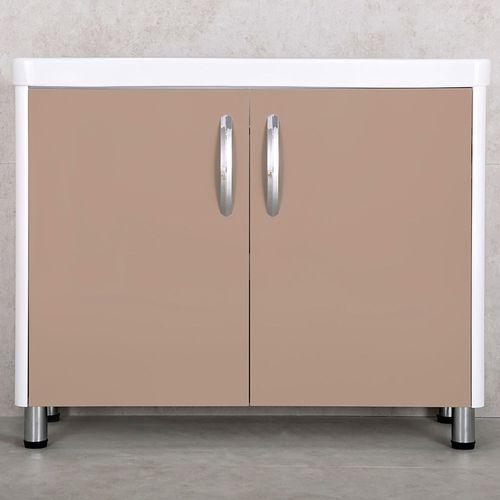 купить Vista Шкаф капучино с умывальником Luxor 1050 в Кишинёве