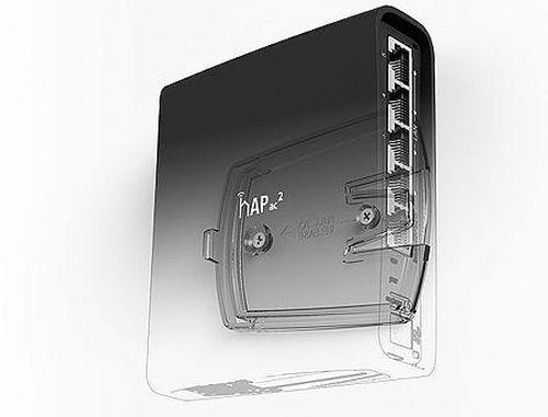 купить Mikrotik hAP ac2 (RBD52G-5HacD2HnD-TC),716MHz CPU,128MB RAM, 5xGbit LAN, built-in 2.4Ghz 802.11b/g/n Dual Chain wireless with integrated antenna,built-in 5GHz 802.11an/ac Dual Chain wireless with integrated antenna,USB,RouterOS L4,desktop/tower case,PSU в Кишинёве