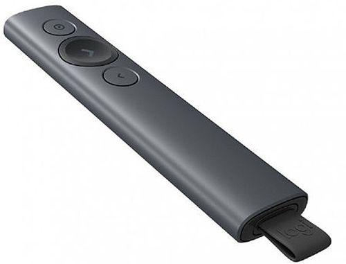 купить Logitech Spotlight Presentation Remote Slate, Bluetooth & 2.4 GHz wireless connection, Up to 30-meter range, Battery Rechargeable Lithium Polymer 85mAh, 910-004861 в Кишинёве