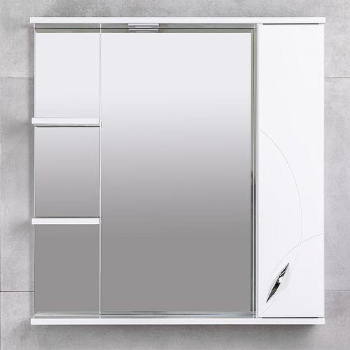 купить Premium Шкаф-зеркало белый 800 R в Кишинёве
