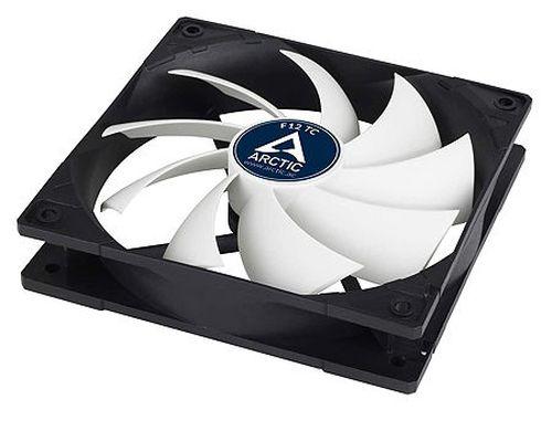 купить Case/CPU FAN Arctic F12 TC, Temperature Control, 120x120x25 mm, 3-pin, 300-1350rpm, Noise 0.3 Sone, 53 CFM / 90.1 m3/h в Кишинёве