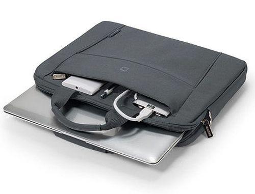 """купить Dicota D31305 Slim Case BASE Notebook Case 13""""-14.1"""" Grey (geanta laptop/сумка для ноутбука) в Кишинёве"""