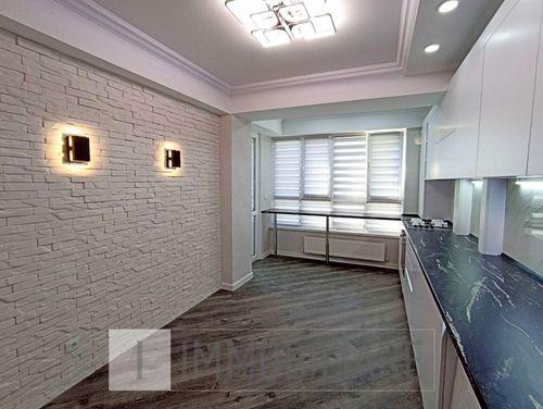 Apartament cu 2 camere+living, sect. Buiucani, str. Liviu Deleanu.