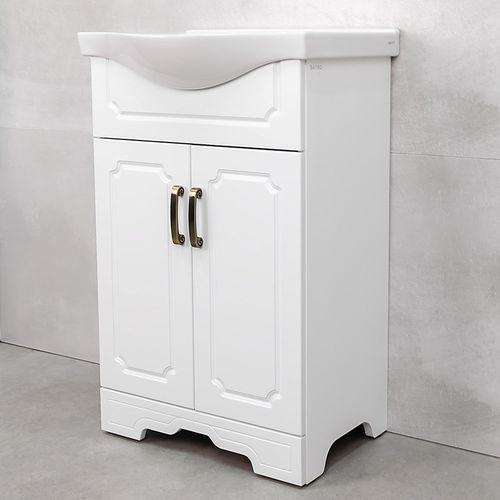 купить Шкаф Classic One белый Дуо под умывальник Alba 540 в Кишинёве