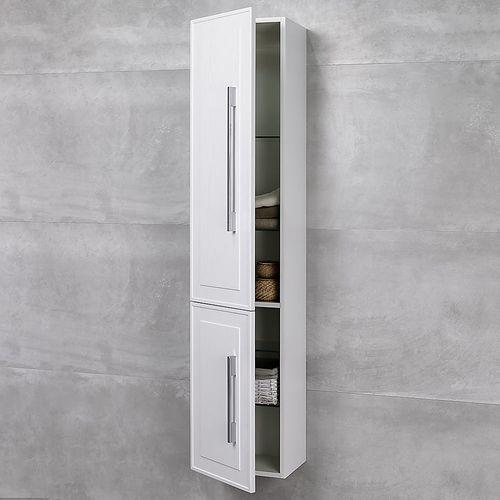 купить Porto Пенал белый структурный 350 L Подвесной в Кишинёве