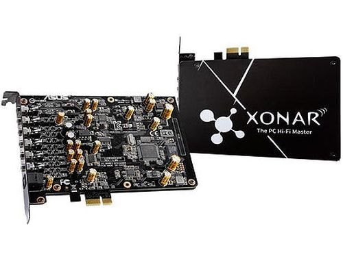 купить ASUS Xonar AE 7.1 Gaming Audio Card, 192kHz/24-bit, 7.1 ch. high resolution audio and 150ohm headphone amp, 110dB signal-to-noise ratio (SNR), PCI Express в Кишинёве