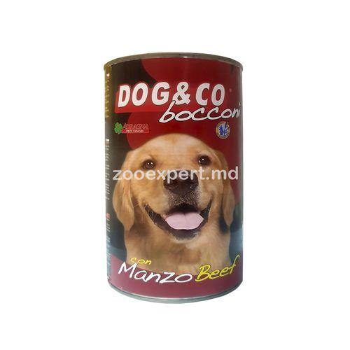 cumpără Dog & Co cu vită 1250 gr în Chișinău