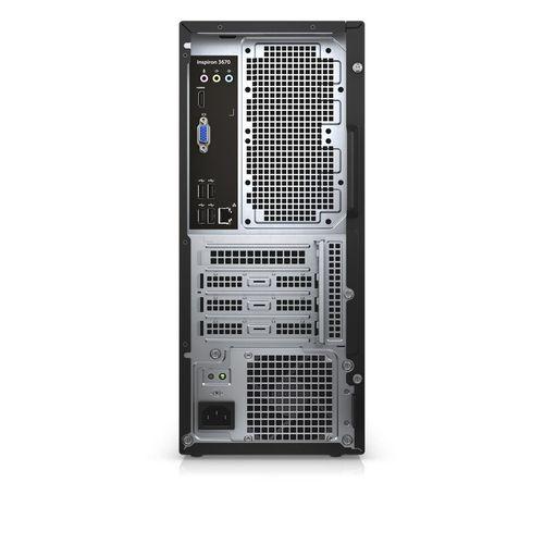 купить DELL Vostro 3671 MT lntel® Core® i5-9400, 8Gb (1x8GB) DDR4 RAM 2666MHz, 256Gb M.2 SSD NVMe, DVDRW, Intel® UHD 630 Graphics, Wi-Fi/BT4.0, 290W PSU, USB Mouse&Keyboard MS116, Win10Pro, Black в Кишинёве