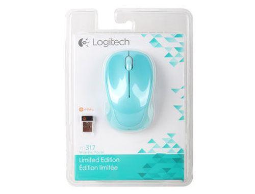 купить Logitech M317 Merry Mint Wireless Mouse, USB, 910-004184 (mouse fara fir/беспроводная мышь) в Кишинёве