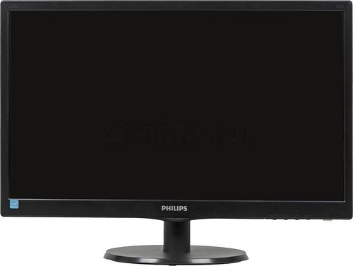 "купить Monitor 23.0"" PHILIPS 233V5LHAB Black (5ms, 10M:1, 250cd,  1920x1080, DVI, HDMI) в Кишинёве"
