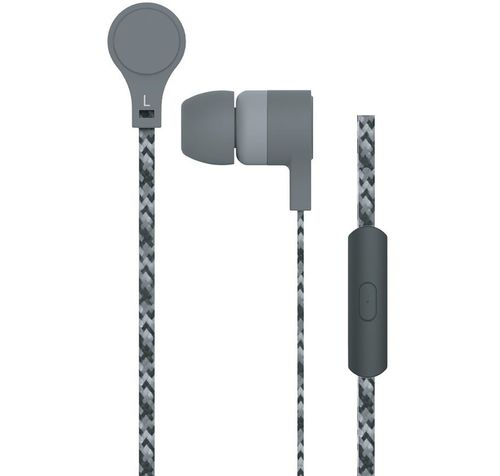 """cumpără MAXELL """"CORDZ"""" Grey, Earphones with in-line Microphone, Hands free calling features, 3 sets of ear tips, Fabric braided cord, Cord type cable 1.2 m în Chișinău"""