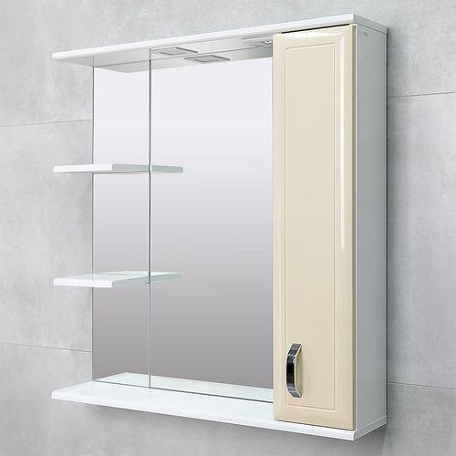 купить Allure Шкаф-зеркало беж 800 R в Кишинёве