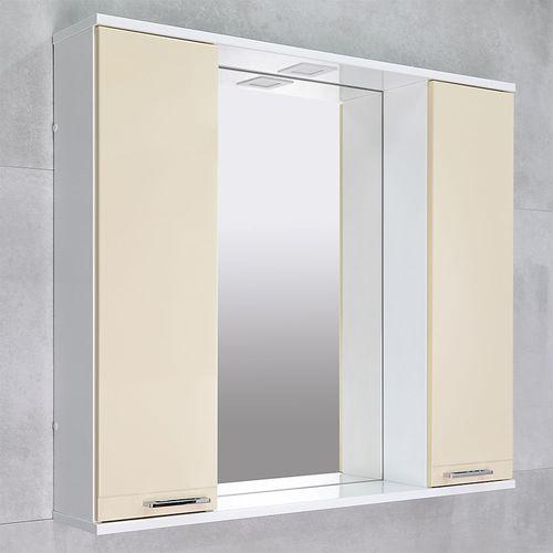 купить Rivera Шкаф-зеркало беж Дуо 970 в Кишинёве