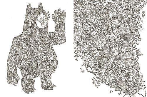 купить Doodle Fushion. Сборище дудлов в Кишинёве