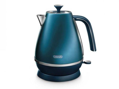 купить Чайник электрический DeLonghi KBI2001.BL Distinta в Кишинёве