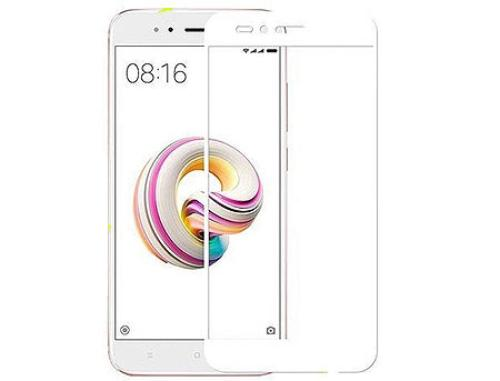 купить 80220013 Screen Geeks sticla protectie Xiaomi Redmi Mi5X/A1 Full Cover Glass Pro All Glue, White (защитное стекло для смартфонов Xiaomi, в асортименте) в Кишинёве