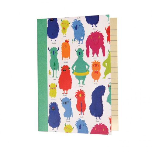 купить Monsters Of The World A6 Notebook в Кишинёве