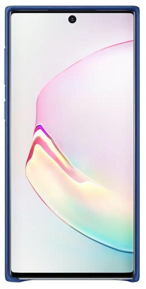 купить Чехол для моб.устройства Samsung EF-VN970 Leather Cover Blue в Кишинёве