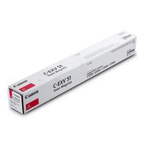 купить Toner Canon C-EXV51 Magenta, (xxxg/appr. 60 000 pages 5%) for Canon iRC55xx в Кишинёве