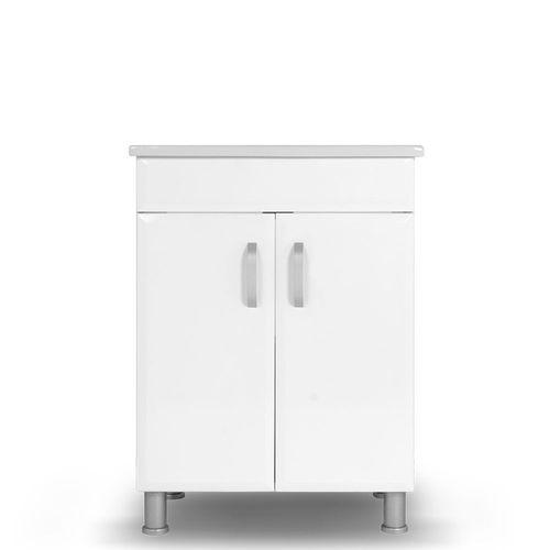 купить Diamis Шкаф белый с умывальником Soft 650 в Кишинёве