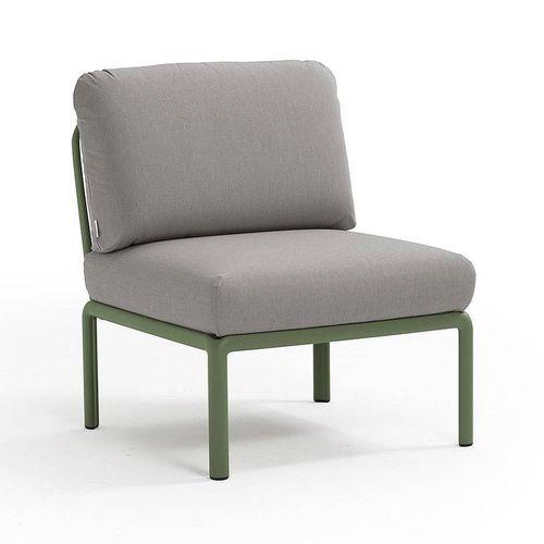 купить Кресло модуль центральный с подушками Nardi KOMODO ELEMENTO CENTRALE AGAVE-grigio 40373.16.163 в Кишинёве