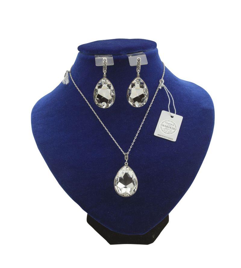 Комплект ювелирных изделий с кристаломи Swarovski