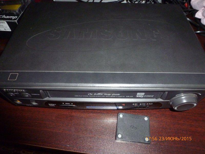 Samsung svr-230b руководство пользователя